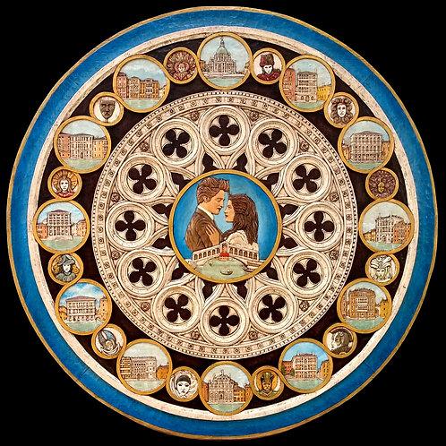 Capriccio Veneziano - Venetian Caprice diam cm 102 ( 40  inch )