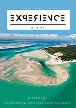 COPERTINA EXPERIENCE MAGAZINE Dicembre 2