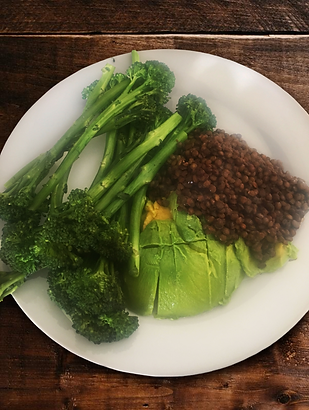 Tenderstem Broccoli - Green Lentils - Av