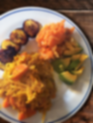 Sweet Potato Mash - Avocado - Curry Cabb