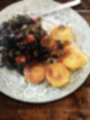 Callaloo - Green Plantain Rock Cakes.png