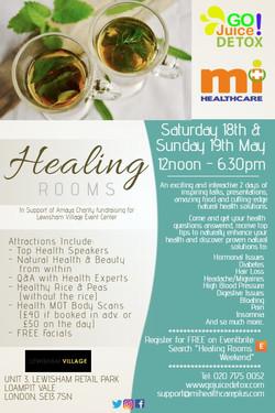 The healing rooms weekender