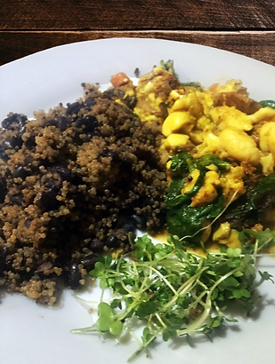 Black Bean Quinoa  - Veggie Ackee - Wate