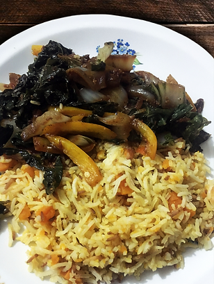 Dark Green Stew -  Pumpkin Rice.png