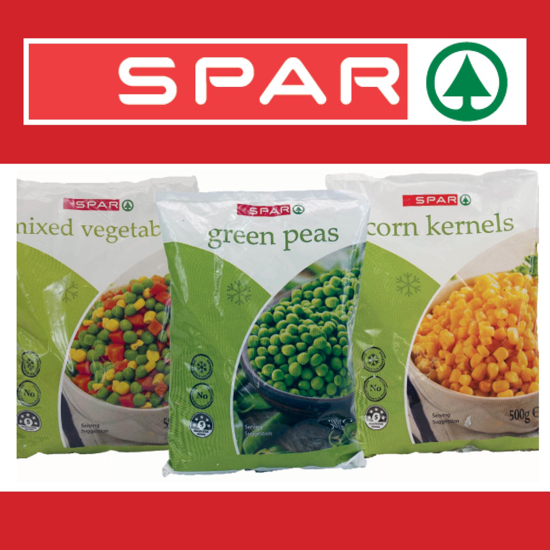 SPAR Frozen Veg