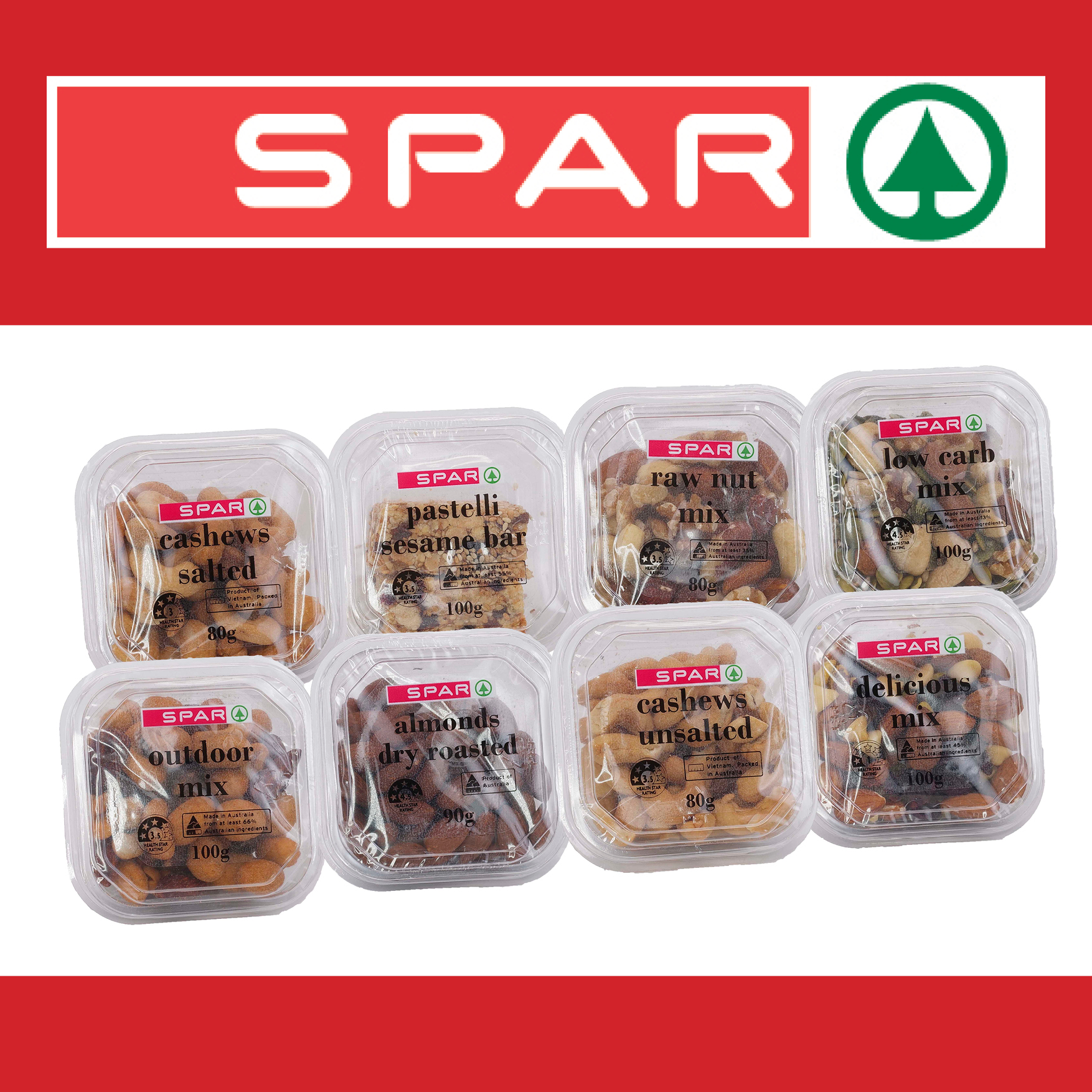 SPAR Snack range