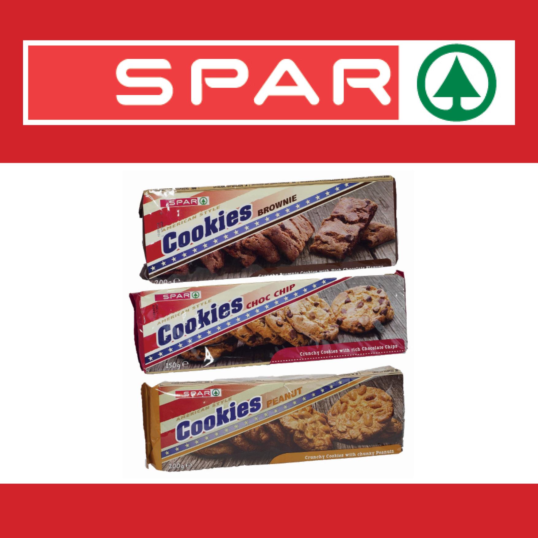 SPAR American Cookies