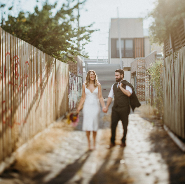 Emma & Heath, Coburg NSW