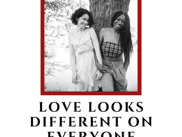 Love Looks Different On Everyone