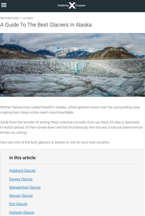 Guide to Alaska's Best Glaciers
