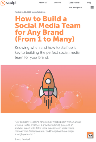 How to Build a Social Media Team for Any Brand