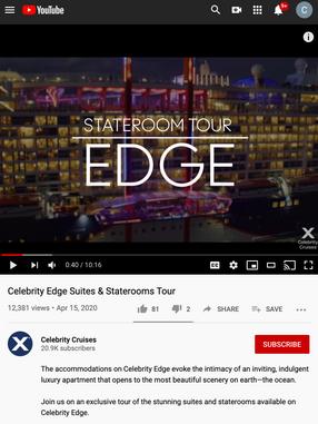 Video: Celebrity Edge Stateroom Tour