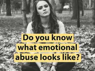 Are you dealing with Emotional Abuse?