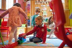 Ребенок в английском детсаде