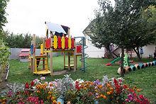 Игровая площадка в садике