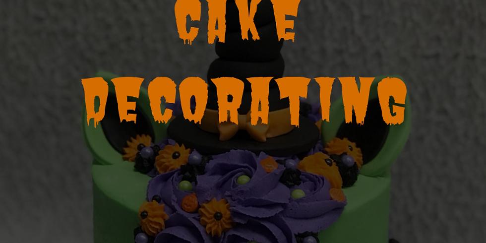 Halloween Cake Decorating Ladies Night