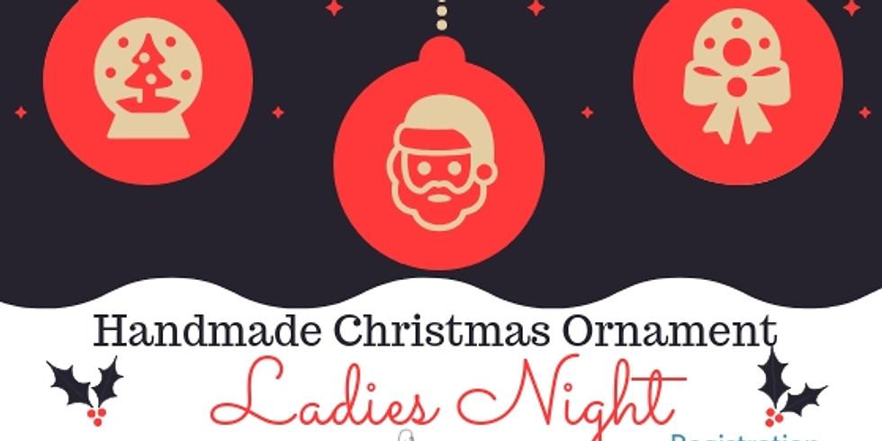 Handmade Christmas Ornament Craft Night