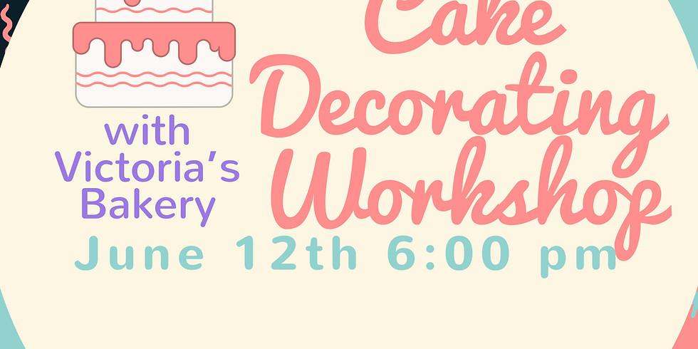Ladies Night Cake Decorating