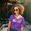 Thumbnail: Melanin Supreme™  Women V-neck Poly Jersey