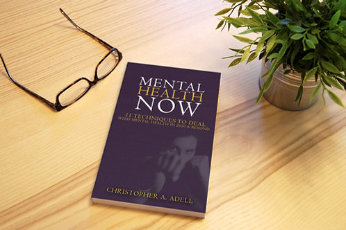 Mental Health Now Book (Signed copy)