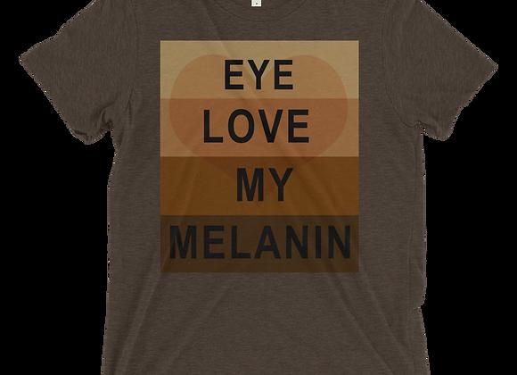 GW Tri-blend T-Shirt (EYE LOVE MELANIN)