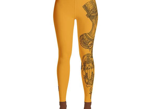 Premium Yoga Leggings High Waist Band (Melanin Supreme)
