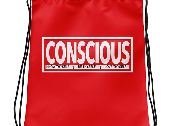 Conscious Drawstring Bag