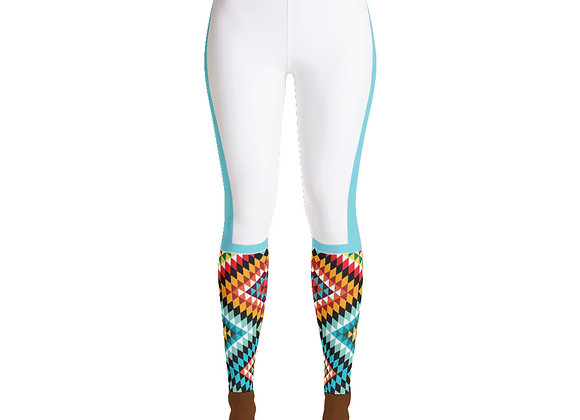 African Yoga Legging (Melanin Strong)
