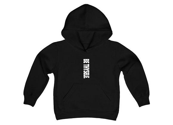 Youth Be thyself Hooded Sweatshirt