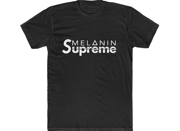 Melanin Supreme™ Crew Short Sleeve Shirt