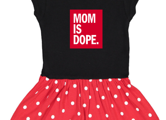 DAD/MOM is Dope Minnie Dress