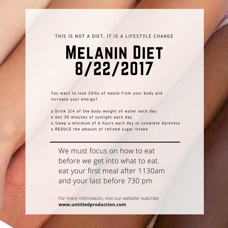 Melanin Diet