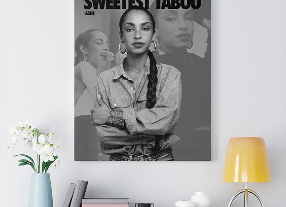 Sweetest Taboo Canvas Gallery Wraps