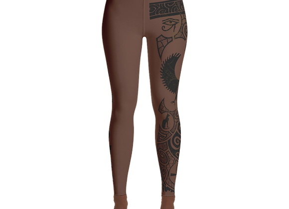 Yoga Leggings (Melanin Power)