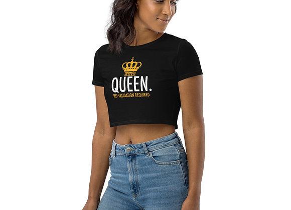 Queen Flowy Crop Top