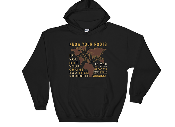 "GW Hoodie ""Know Your Roots"""