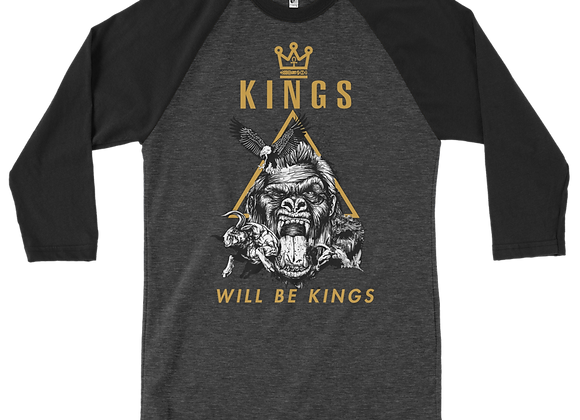 GW 3/4 Sleeve King Be Kings Shirt