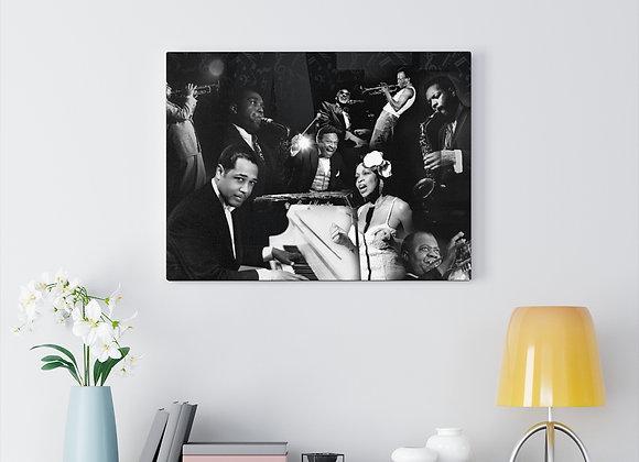 Jazz Legends Canvas Gallery Wraps