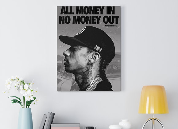 Nipsey Hussle Canvas Gallery Wraps