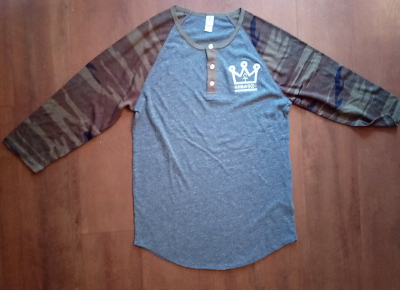 3/4 Sleeve Camo shirt