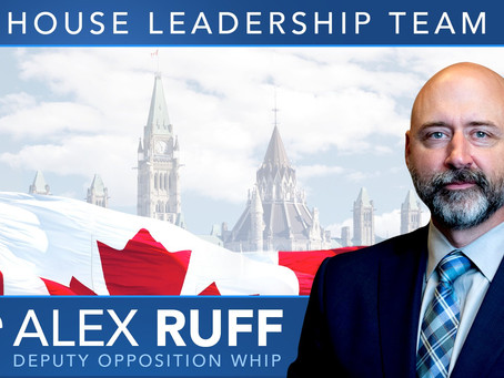 Alex Ruff named Deputy Opposition Whip