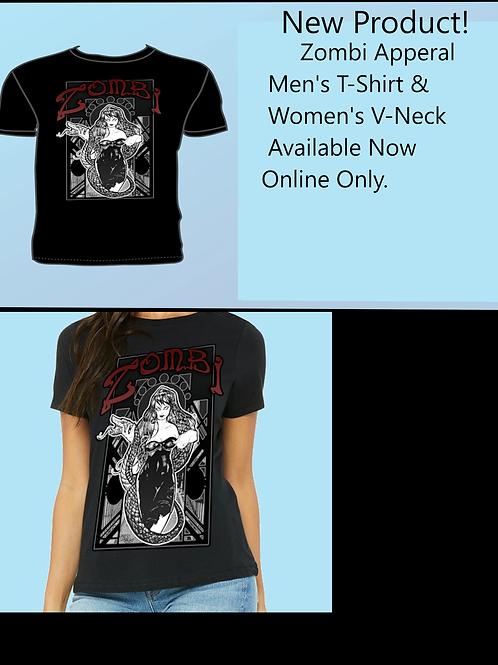 Zombi Men's T-Shirt and Women's V-neck