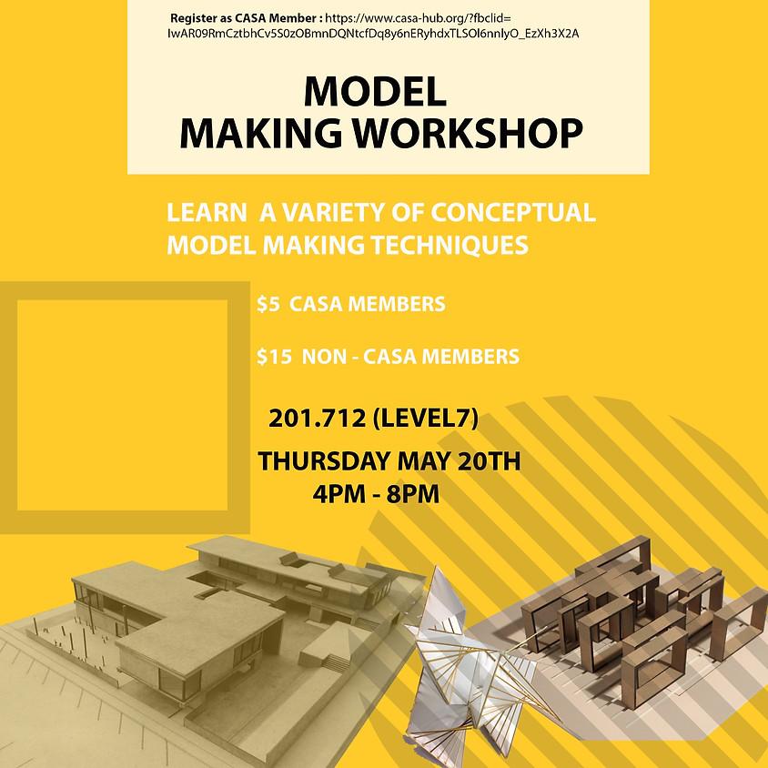 Model-making workshop