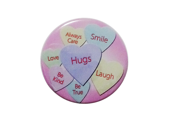 Valentine's Day Candy Hearts Topper