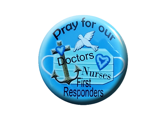 Pray for our doctors nurses first responders anchor cross hearts