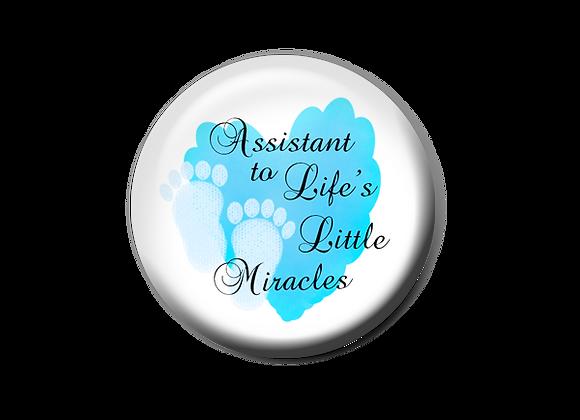 Maternity Nurse Badge Reel Topper
