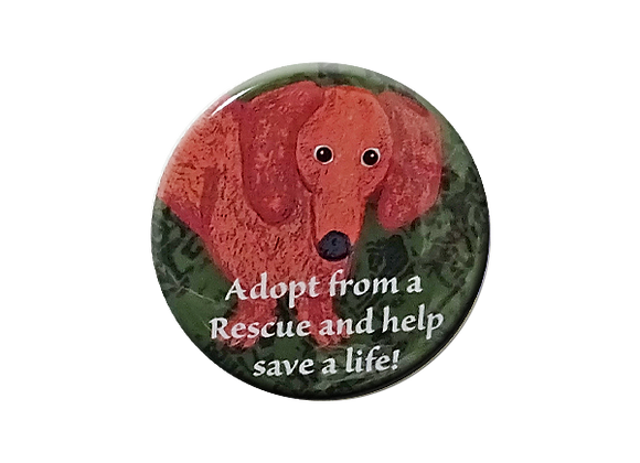 Adopt from a Rescue and Save a Life Topper