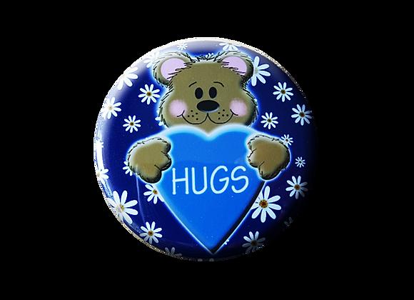 Bear Hugs Heart & Daisies Pediatric Topper