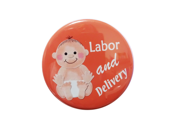 Labor and Delivery Baby Nurse Topper