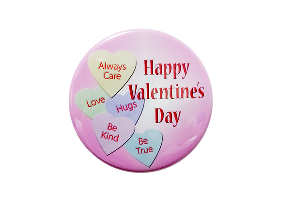 Happy Valentine's Day Candy Hearts Topper
